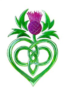 Scottish Thistle Clipart (97+ images in Collection) Page 1.