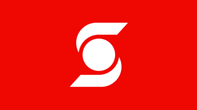 Scotiabank redesign, from red to rainbow.