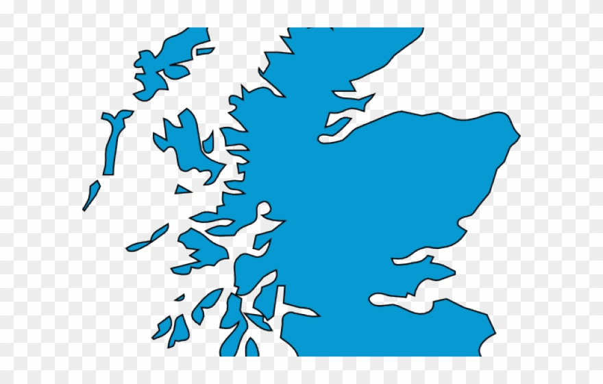 Map Clipart Scotland.