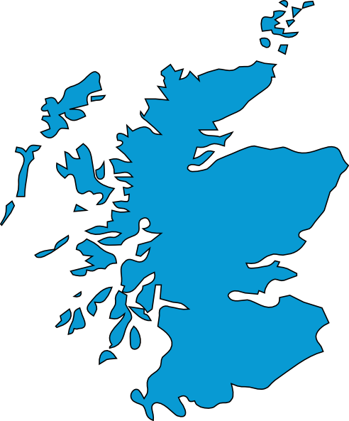Blue Scotland Clip Art at Clker.com.