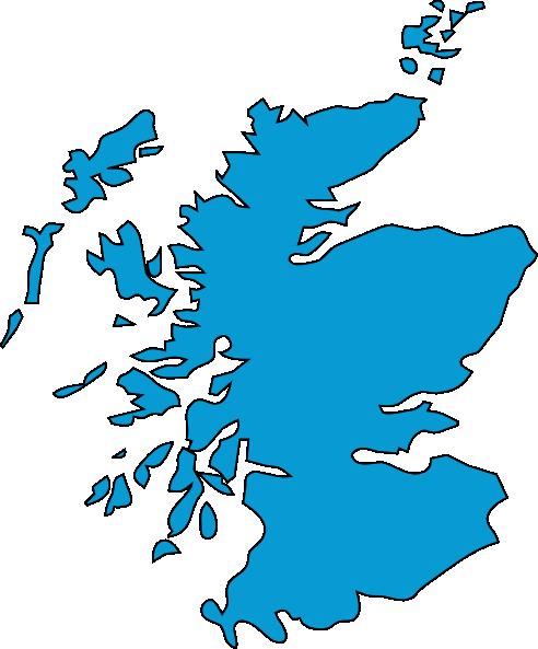 Blue Scotland Clip Art at Clker.com.