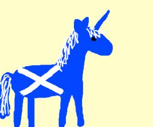 Dwarf copulate w/ unicorn = ?.