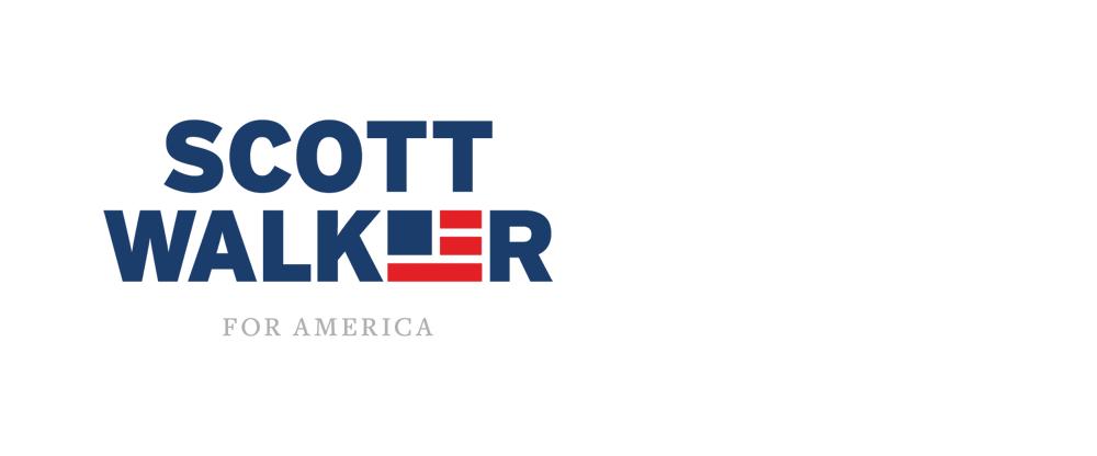 Brand New: New Logo for Scott Walker done In.