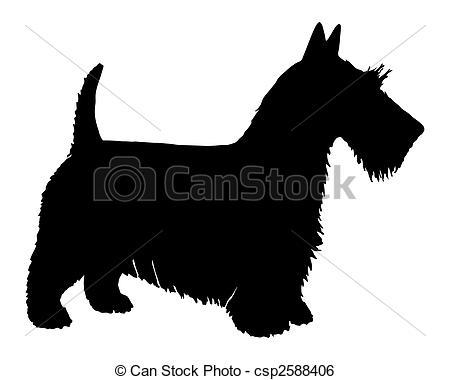 Scottish terrier Clip Art and Stock Illustrations. 221 Scottish.