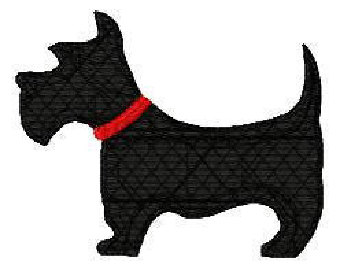 Scottie Dog Silhouette Clip Art (42+).