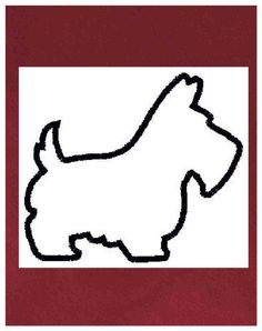 Scottie Dog Clip Art.
