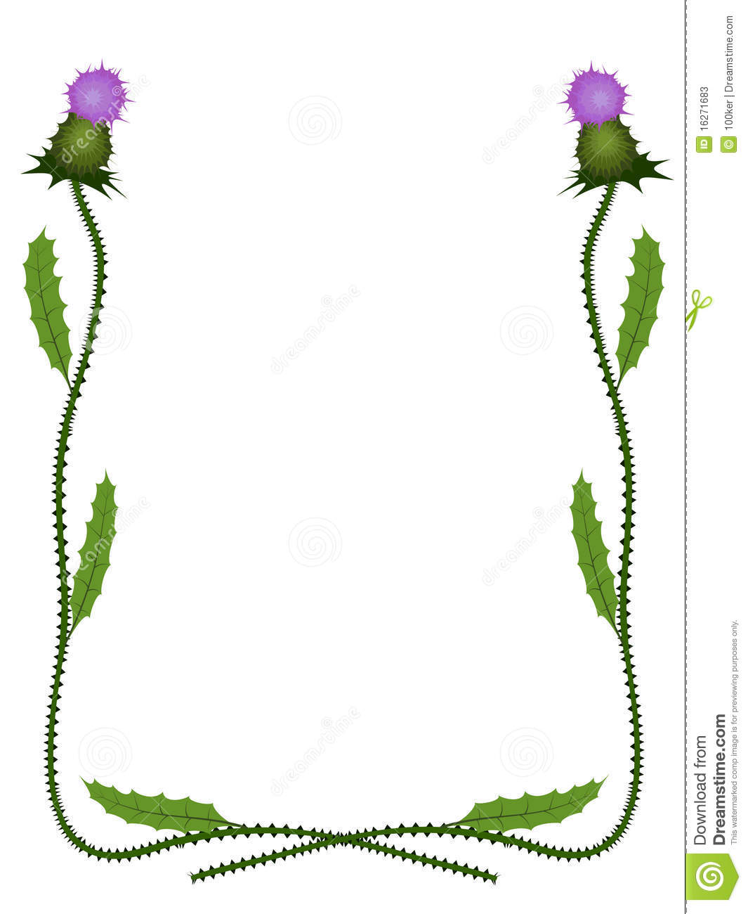 Scottish Thistle Clipart (97+ images in Collection) Page 2.