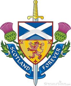 Scottish Flags Clipart.