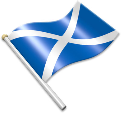 Scottish flag clipart 3 » Clipart Station.