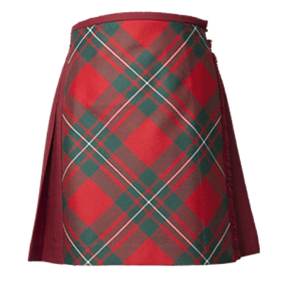 Vintage Scottish Kilt transparent PNG.