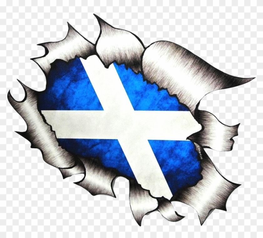 Scottish Flag Transparent , Png Download.