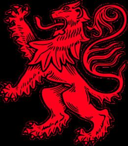Scottish Lion 2 Clip Art at Clker.com.