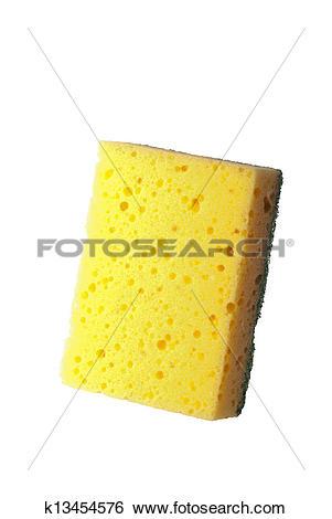 Stock Images of Household scourer k13454576.