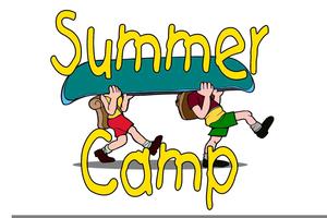 Boy Scout Summer Camp Clipart.