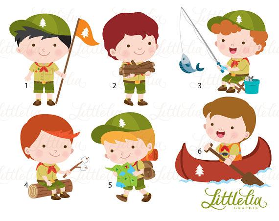 Boys scout clipart.