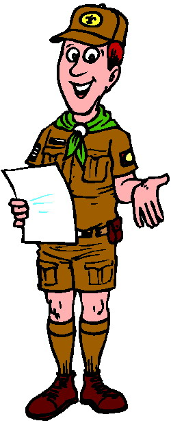 Scouting Clip Art.
