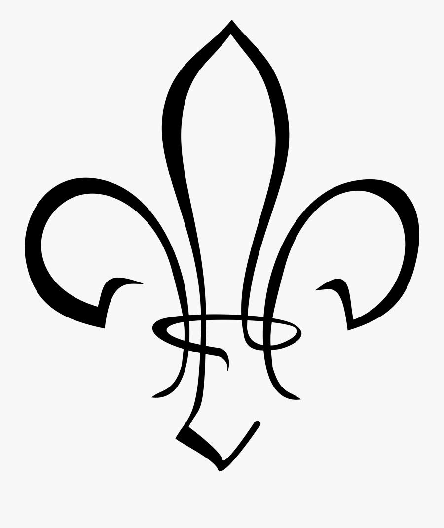 Fleur De Lis Boy Scout Clipart Transparent Clipartfest.