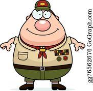 Scout Leader Clip Art.