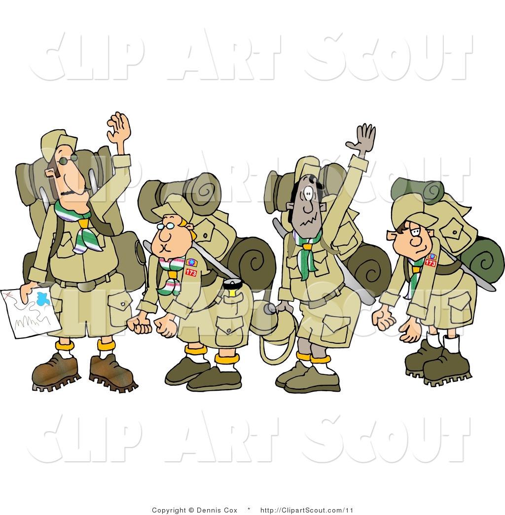 Boy Scout Border Clipart.
