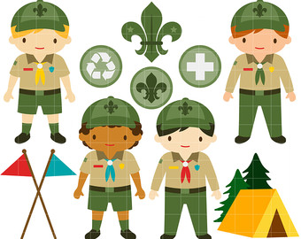 Scouts clipart.