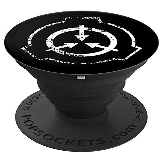 Amazon.com: Grungy SCP Foundation Logo Emblem Phone Grip.