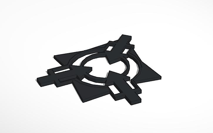 3D design SCPF Logo.