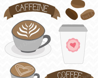 Coffee Latte Clipart.