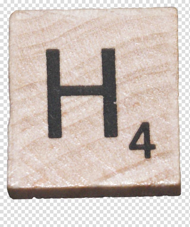 Scrabble Tiles s, H scrabble tile transparent background PNG.