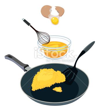 Scrambled Egg Clipart.