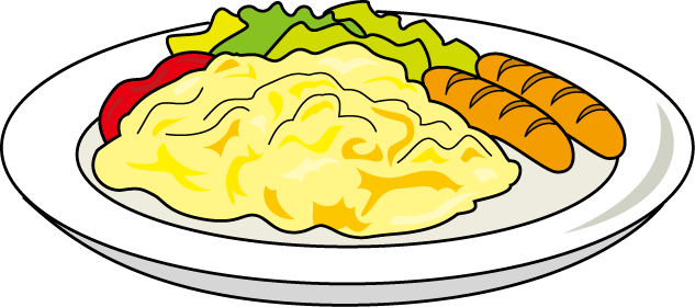 Scrambled Eggs Clipart.