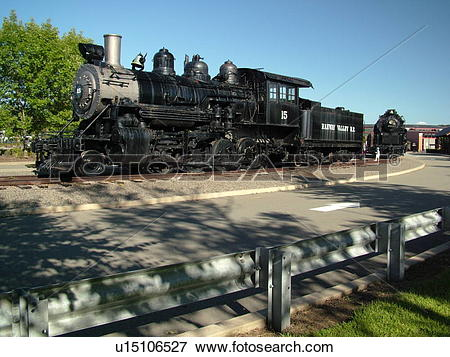 Picture of Scranton, PA, Pennsylvania, Steamtown National Historic.