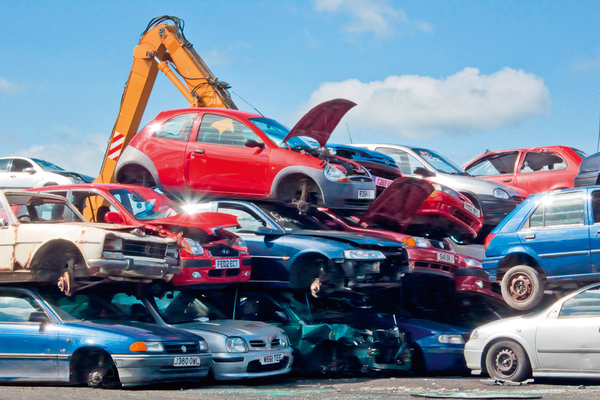 Cloned Cars Scrap Yard.