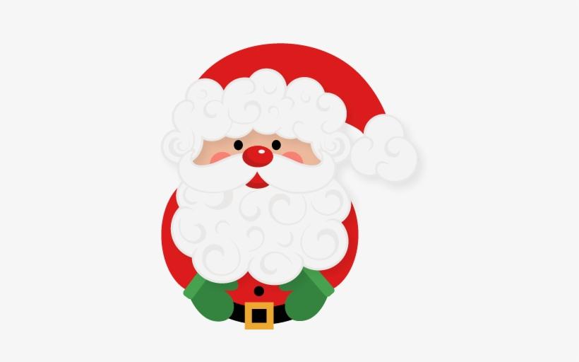 Santa Claus Svg Scrapbook Cut File Cute Clipart Files.