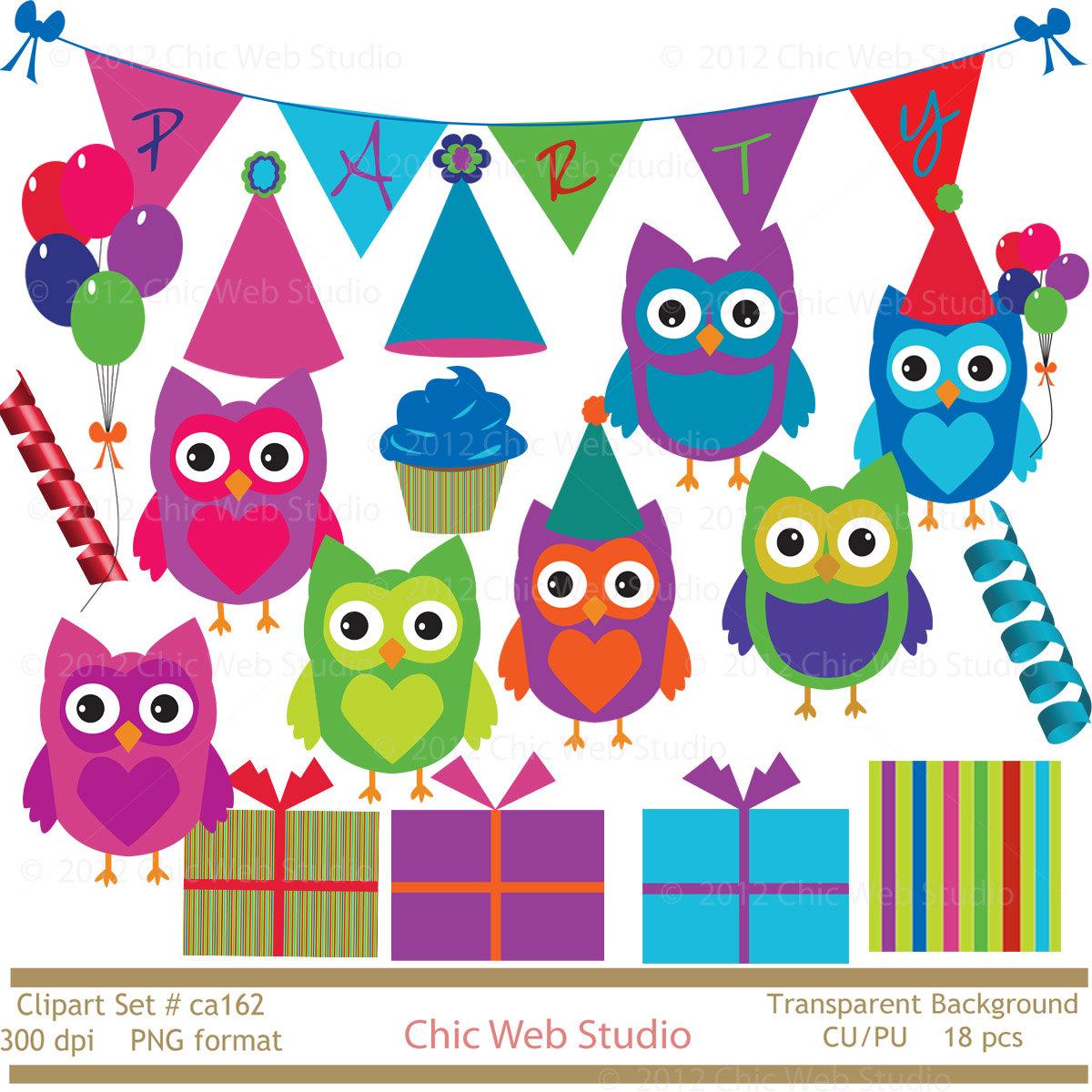 Scrapbook Clip Art Free Owl Birthday Party Ideas Owl Food Gourmet.