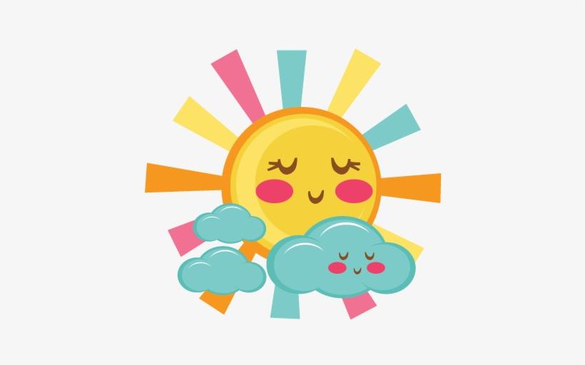 Cute Sun Svg Scrapbook Cut File Cute Clipart Files.