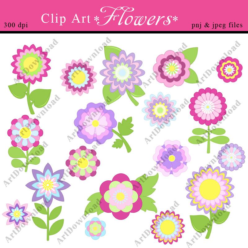 Digital Clip Art Set , Scrapbooking Cards , Clip Art For Personal.