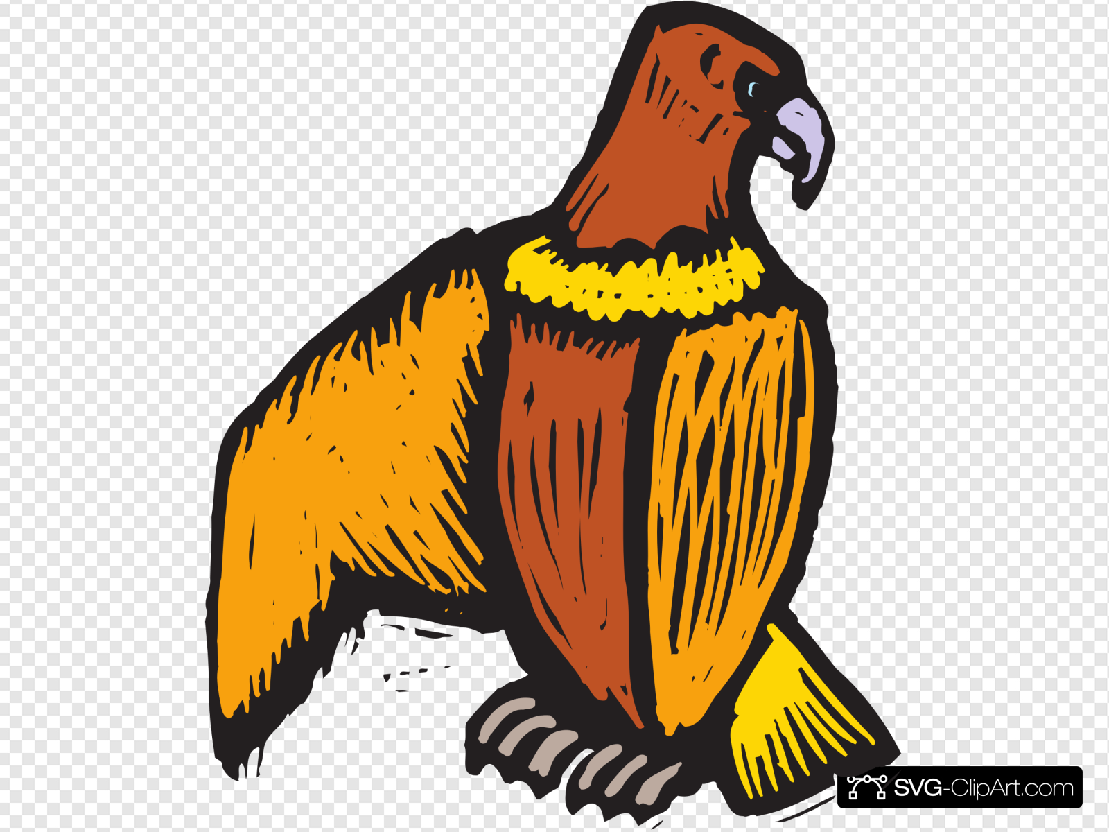 Scratch Off Eagle Art Clip art, Icon and SVG.