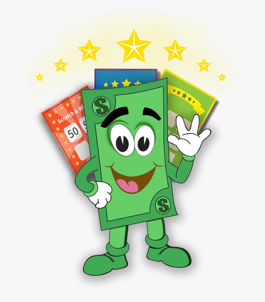 The Lottery Scratch Off Scratcher.