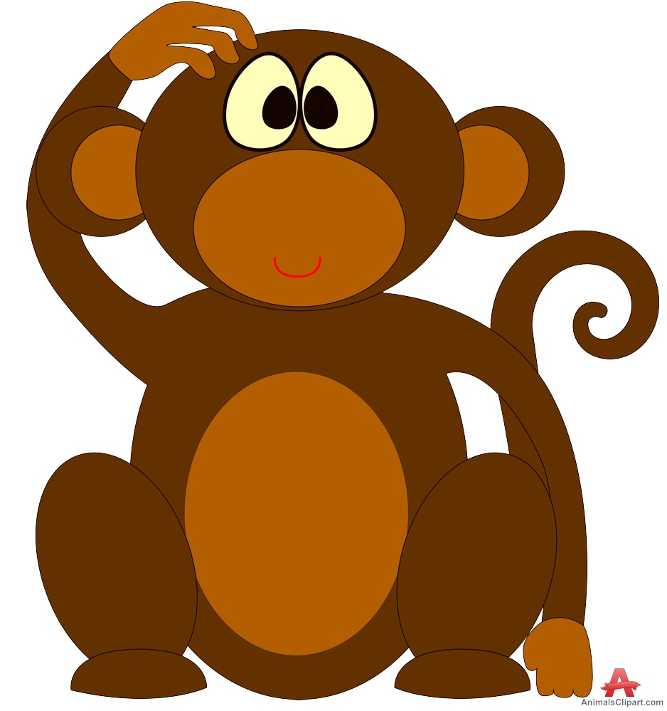 Free Monkey Scratching Cliparts, Download Free Clip Art.