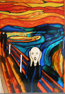Munch The Scream Clipart.