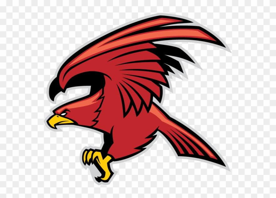 Red Eagle Mascot.