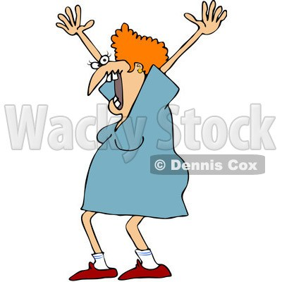 Lady screaming clipart » Clipart Portal.