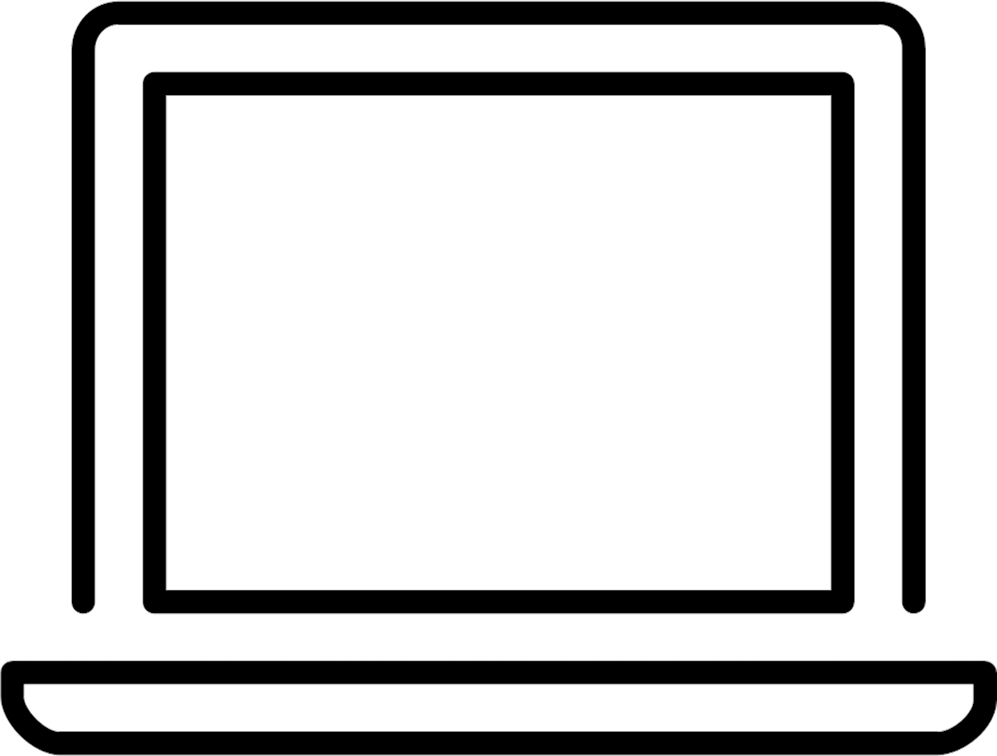Laptop Computer Screen Icon Png Clipart.