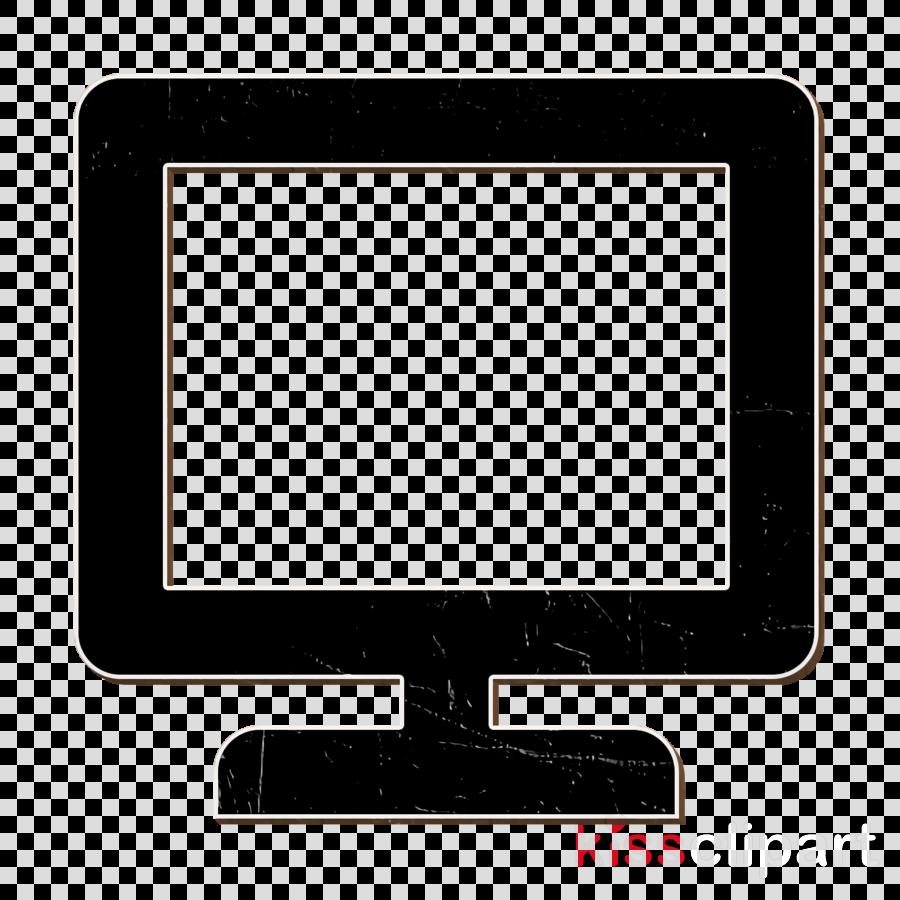 screen icon clipart.