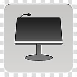 Quadrates Extended, flat screen computer monitor transparent.