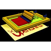 Screen printing clip art software.
