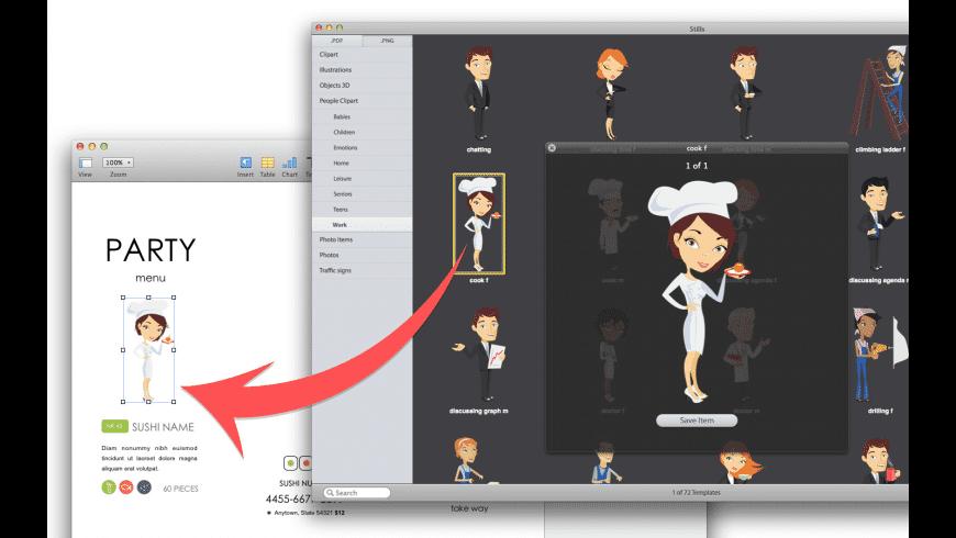 Expert Clipart for Mac.
