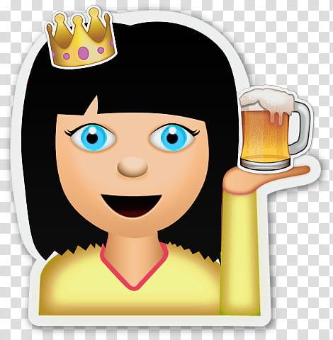 Faviemojis VOL , woman in yellow shirt screenshot.