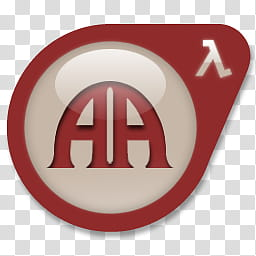 Valve World icon ADDon , Art of Ascension, red and white.
