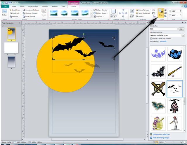 Clipart Screenshot.